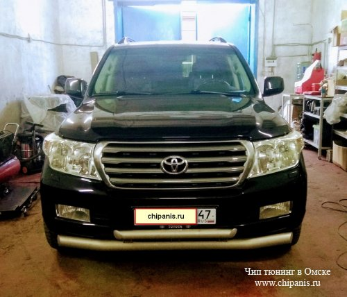 Чип тюнинг Toyota Land Cruiser 200 4,5 турбо дизель