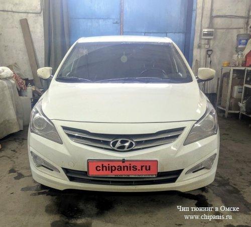 Чип-тюнинг Hyundai Solaris